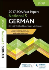 Omslag - National 5 German 2017-18 SQA Past Papers with Answers