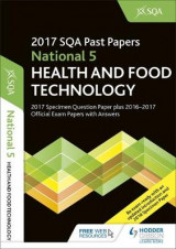 Omslag - National 5 Health & Food Technology 2017-18 SQA Specimen and Past Papers with Answers