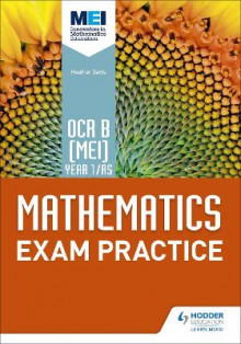 OCR B [MEI] Year 1/AS Mathematics Exam Practice av Jan Dangerfield, Rose Jewell, Sue Pope, Andrew Roberts og Nick Geere (Heftet)