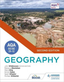 AQA GCSE (9-1) Geography Second Edition av John Widdowson, Simon Oakes, Michael Witherick, Meryl King, Rebecca Blackshaw og Sarah Wheeler (Heftet)