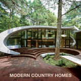 Omslag - Modern Country Homes