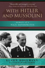 Omslag - With Hitler and Mussolini