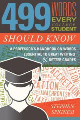 Omslag - 499 Words Every College Student Should Know
