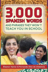 Omslag - 3,000 Spanish Words and Phrases They Won't Teach You in School