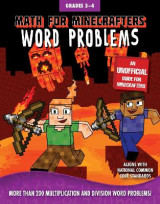 Omslag - Math for Minecrafters Word Problems: Grades 3-4