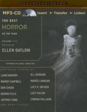 The Best Horror of the Year av Laird Barron, Ramsey Campbell og Margo Lanagan (Lydbok-CD)