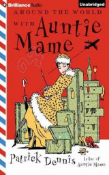 Omslag - Around the World with Auntie Mame