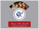 Omslag - Peace on Earth - Vintage Nativity Greeting Cards.