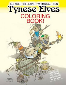 Tynese Elves Coloring Book av Jim Fitzgerald (Heftet)