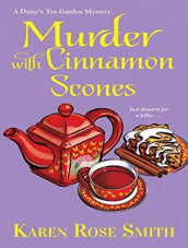 Murder with Cinnamon Scones av Karen Rose Smith (Lydbok-CD)