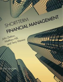 Short-Term Financial Management av John Zietlow, Matthew Hill og Terry Maness (Innbundet)