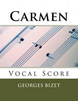 Omslag - Carmen - Vocal Score (French and English)