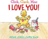 Omslag - Click, Clack, Moo I Love You!