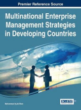 Omslag - Multinational Enterprise Management Strategies in Developing Countries