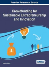 Omslag - Crowdfunding for Sustainable Entrepreneurship and Innovation