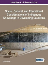 Omslag - Handbook of Research on Social, Cultural, and Educational Considerations of Indigenous Knowledge in Developing Countries