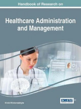 Omslag - Handbook of Research on Healthcare Administration and Management
