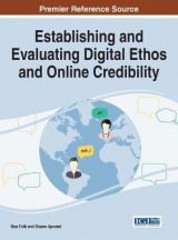 Omslag - Establishing and Evaluating Digital Ethos and Online Credibility