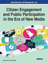 Omslag - Handbook of Research on Citizen Engagement and Public Participation in the Era of New Media