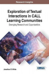 Omslag - Exploration of Textual Interactions in CALL Learning Communities: Emerging Research and Opportunities
