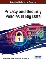 Omslag - Privacy and Security Policies in Big Data