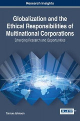 Omslag - Globalization and the Ethical Responsibilities of Multinational Corporations: Emerging Research and Opportunities