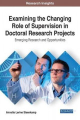 Omslag - Examining the Changing Role of Supervision in Doctoral Research Projects