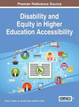 Omslag - Disability and Equity in Higher Education Accessibility