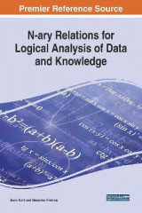 Omslag - N-ary Relations for Logical Analysis of Data and Knowledge