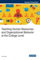 Omslag - Teaching Human Resources and Organizational Behavior at the College Level