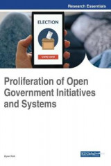 Omslag - Proliferation of Open Government Initiatives and Systems