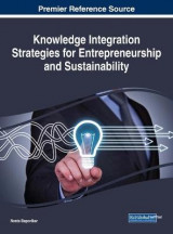 Omslag - Knowledge Integration Strategies for Entrepreneurship and Sustainability
