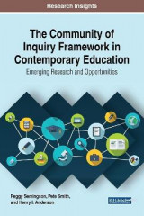 Omslag - The Community of Inquiry Framework in Contemporary Education: Emerging Research and Opportunities