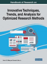 Omslag - Handbook of Research on Innovative Techniques, Trends, and Analysis for Optimized Research Methods