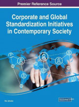 Omslag - Corporate and Global Standardization Initiatives in Contemporary Society