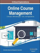 Omslag - Online Course Management: Concepts, Methodologies, Tools, and Applications