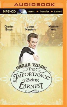 The Importance of Being Earnest av Oscar Wilde (Lydbok-CD)