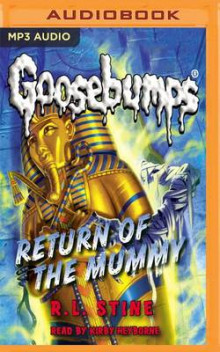Return of the Mummy av R L Stine (Lydbok-CD)