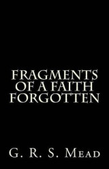 Omslag - Fragments of a Faith Forgotten
