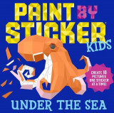 Omslag - Paint by Sticker Kids: Under the Sea