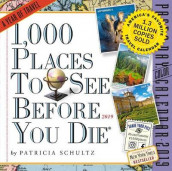 2019 1000 Places to See Before You Die Colour Page-A-Day Calendar av Patricia Schultz (Kalender)