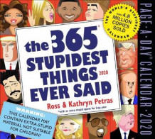 2020 the 365 Stupidest Things Ever Said Page-A-Day Calendar av Kathryn Petras og Ross Petras (Kalender)