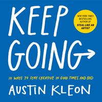 Keep going av Austin Kleon (Heftet)