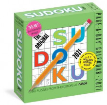 2021 Original Sudoku Page-A-Day Calendar av Workman Publishing og Editors at Nikoli (Kalender)