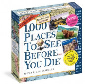 2021 1,000 Places to See Before You Die Colour Page-A-Day Calendar av Patricia Schultz (Kalender)