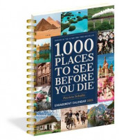 2021 1000 Places to See Before You Die Diary av Patricia Schultz (Kalender)
