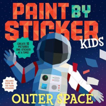 Paint by Sticker Kids: Outer Space av Workman Publishing (Heftet)