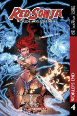 Omslag - Red Sonja: Worlds Away Vol. 4 TPB