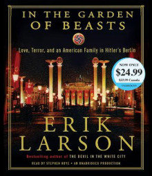 In the Garden of Beasts av Erik Larson (Lydbok-CD)