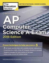 Omslag - Cracking the AP Computer Science A Exam, 2018 Edition